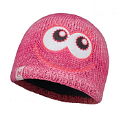 Шапка BUFF CHILD KNITTED & POLAR HAT BUFF MONSTER MERRY PINK