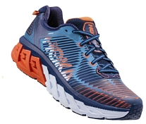 Беговые кроссовки Hoka 2017 M ARAHI MEDIEVAL BLUE / RED ORANGE