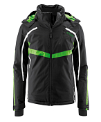 Куртка горнолыжная MAIER 2015-16 MS Classic Pegasus black/classic green