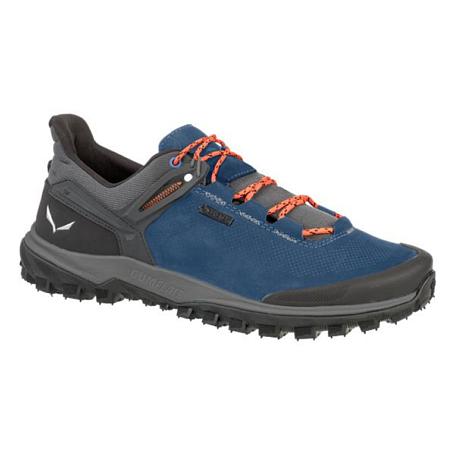 Купить Ботинки для треккинга (низкие) Salewa 2017 MS WANDER HIKER GTX Dark Denim/Holland, Треккинговая обувь, 1325950