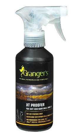 Пропитка GRANGERS 2013 CLOTHING Waterproofing XT Proofer 275ml Trigger Spray (Air Dry)