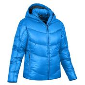 Куртка туристическаяОдежда для активного отдыха<br>Очень мягкий и теплый пуховик. <br>Все швы укреплены с внутренней стороны для дополнительной защиты от холода. <br>Теплый капюшон с мягкой подкладкой, утепленные карманы. Эластичные манжеты с дополнительной защитой рук от ветра и снега. <br>В сложенном виде пуховик очень компактен.<br>Материал: 100% полиамид. <br>Наполнитель: белый гусиный пух 90/10, коэффициент сжатия 650 cuin 130g.<br><br><br>Пол: Женский<br>Возраст: Взрослый<br>Вид: куртка