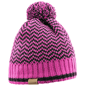Шапка SALOMON 2017-18 BACK COUNTRY BEANIE Rose V/Black