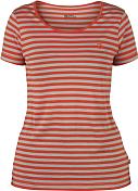 Футболка для активного отдыхаОдежда для активного отдыха<br>Женская футболка приталенного кроя.<br> <br> Характеристики:<br> <br> -состав - 15% шерсть, 85% Tencel® Lyocell<br> -хорошо впитывает влагу и отталкивает запахи<br> -на груди логотип