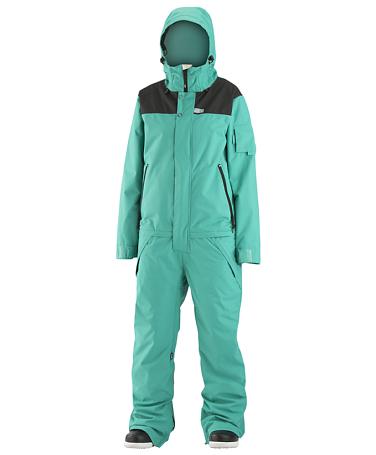 Купить Комбинезон сноубордический AIRBLASTER 2015-16 WOMENS FREEDOM SUIT TEAL Одежда сноубордическая 1216897