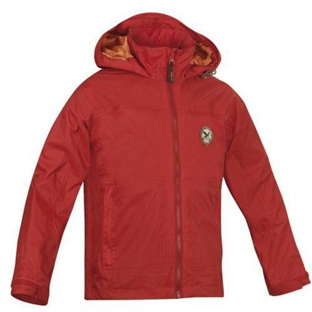 Купить Куртка для активного отдыха Salewa Kids ROCKN CLIMB RTC K JKT red (красный) Детская одежда 716828