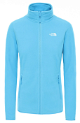 Флис горнолыжный The North Face 2020-21 100 Glacier Full Zip Ethereal Blue