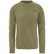 Толстовка для активного отдыха The North Face 2020 TKA Glacier Pullover Crew Burnt Olive Green