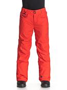 Брюки сноубордические Quiksilver 2015-16 State Yth Pant B SNPT POINCIANA