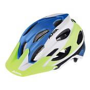 Летний шлемШлемы велосипедные<br>Легкий и безопасный внедорожный шлем. Глубокая посадка, закрывающая затылок, аскетичный дизайн и яркие цвета - всё, что вам нужно для эндуро. <br><br>Технологии: Run System Ergo Pro, Shield Protect <br><br>Вес: 250 g<br>Кол-во вентиляционных отверстий: 17