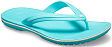 Сандалии Crocs 2019 Crocband Flip Pool/White