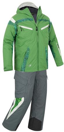 Купить Комплект горнолыжный Salewa Kid EVANSTON PTX K SUIT chlorophil100 (зеленый) Детская одежда 680819