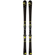Горные лыжи с креплениямиГорные лыжи<br>Идеальный инструмент для высоких скоростей. Уверенное сцепление на ледяных склонах, точность, контроль, сумасшедшая динамика и высочайшая скоростная стабильность.<br><br>Геометрия: 115-68-97<br>Крепления: RC4 Z12 POWERRAIL 85<br>Радиус: 18m/175cm<br><br>Уровень подготовки:  8-10<br>Трасса (ON):  1-10