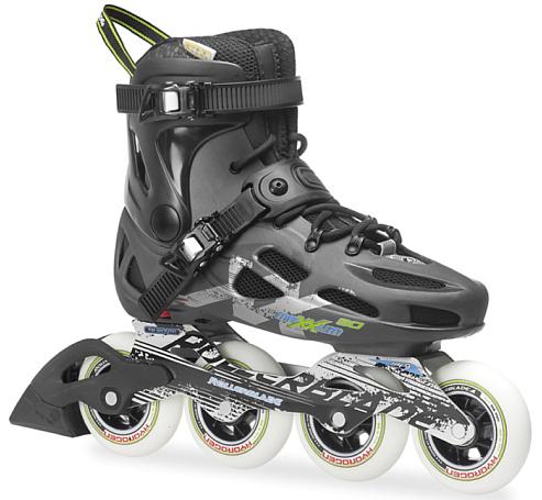 Купить Роликовые коньки Rollerblade 2014 MAXXUM 90 BLACK/ANTHRACITE Ролики взрослые 1076338