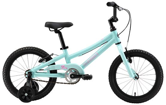 Купить Велосипед Silverback SALLY 4.6 SS 2017 Аквамарин/Розовый/Белый До 6 лет (колеса 12-18) 1321983
