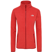 Флис горнолыжный The North Face 2019-20 100 Glacier Cardinal Red/Juicy Red Stripe