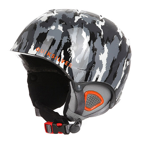 Купить Зимний Шлем Quiksilver 2016-17 THE GAME B HLMT KZE9 WAXDOTCAMO GREY Шлемы для горных лыж/сноубордов 1309420