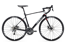 Велосипед Giant Defy 2 Disc 2016 Black / Черный