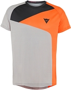 Велофутболка Dainese 2020 Hg Tee 3 Light Gray/Orange
