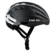 Летний Шлем Casco Sport Road Speedairo (Visor) Black + Grey-silver Mirror