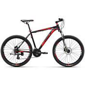 Велосипед Welt Ridge 2.0 HD 2017 matt black/red