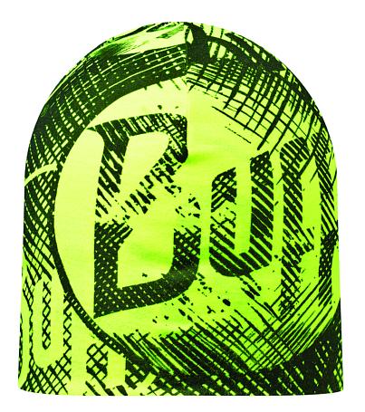 Купить Шапка BUFF MICROFIBER REVERSIBLE R-LOG US BLACK - YELLOW Банданы и шарфы Buff ® 1169233