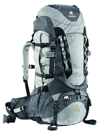 Рюкзак Deuter 2013 Aircontact PRO 55 + 15 SL silver-anthracite