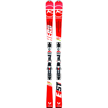 Горные лыжи с креплениями ROSSIGNOL 2014-15 RACE HERO ELITE ST+AXIUM 120 TPI B80 WHITE RED