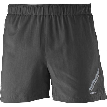 Шорты беговые SALOMON 2017 AGILE SHORT M Flame