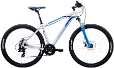 Велосипед MERIDA Big.Seven 10-MD 2020 Silver/Blue Decal