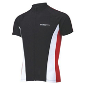 Веломайка BBB ComfortFit jersey s.s. black red (BBW-117)
