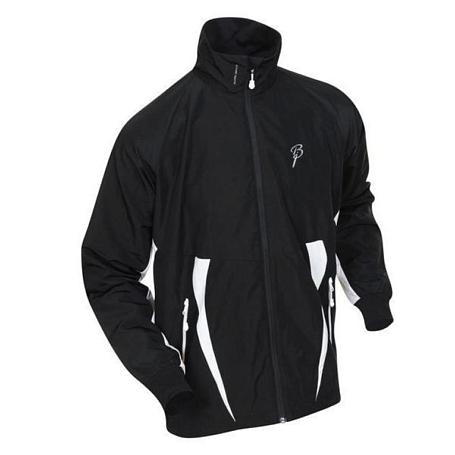 Купить Куртка беговая Bjorn Daehlie Jacket CHARGER Black/Snow White (черный/белый) Одежда лыжная 859330