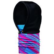 КапюшонАксессуары Buff ®<br>Теплый и многофункциональный головной убор Buff Hood выполнен в виде непродуваемого капюшона. Верхняя часть состоит из Windstopper, защищающая вас от ветра, шейный отдел из двойного слоя microfibra, что позволяет вам использовать его в качестве шарфа-капюшона или капюшона-маски и закрывать как шею, так и лицо.<br><br>Пол: Унисекс<br>Возраст: Взрослый<br>Вид: капюшон