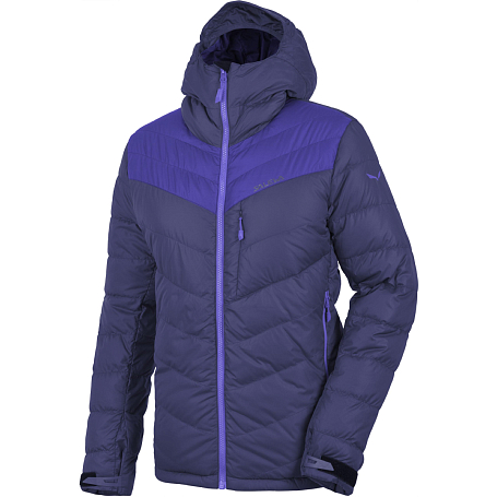 Куртка туристическая Salewa Mountaineering ORTLES DWN W JKT ultramarine/6910