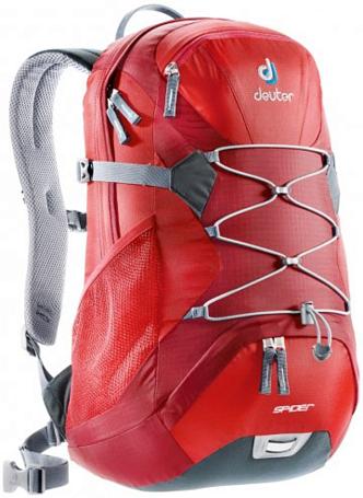 Купить Рюкзак Deuter Daypacks Spider cranberry-fire Рюкзаки универсальные 1073399