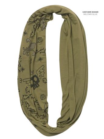 Купить Шарф BUFF URBAN Varsity SHAME MILITARY OLIVE Банданы и шарфы Buff ® 879538
