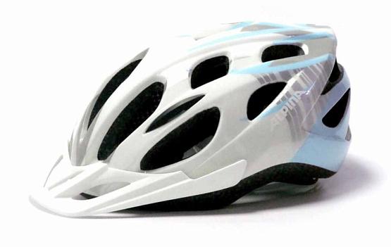 Купить Летний шлем Alpina SMU MTB 14 white-iceblue, Шлемы велосипедные, 1180251