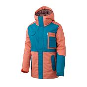 Куртка сноубордическая ROMP 2015-16 50:50 Grind Classic Jacket Green Orange