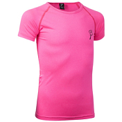 Футболка беговая Bjorn Daehlie Junior T-Shirt STRIDE Junior Pink Glo / Розовый