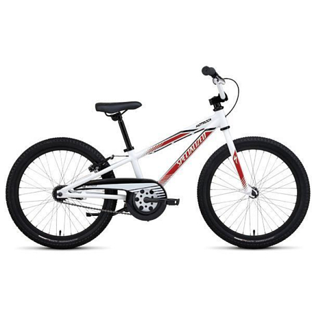 Велосипед SPECIALIZED Hotrock 20 Coaster INTER Wht/Red/Blk