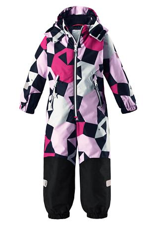 Купить Комбинезон горнолыжный Reima 2017-18 Snowy Pink Детская одежда 1351634
