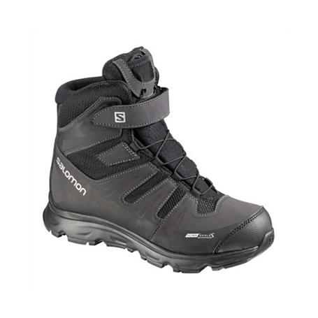 Купить Ботинки городские (высокие) SALOMON 2013-14 Backpacking / Hiking & Winter SYNAPSE WINTER CSWP J BLACK/BK/S Обувь для города 1015710
