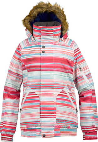 Купить Куртка сноубордическая BURTON 2013-14 WB TRINITY JK STOUT WHT HITIDE STP Одежда 1021723