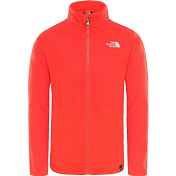 Флис горнолыжный The North Face 2019-20 Y Snow Quest Fz Fiery Red