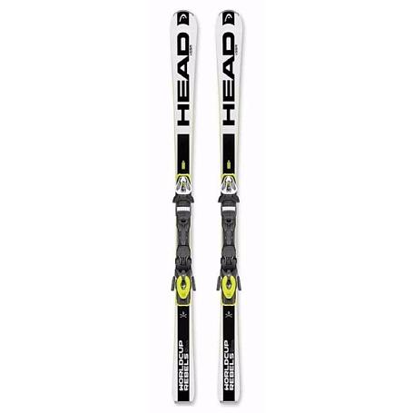 Купить Горные лыжи с креплениями HEAD WC Rebels iGSR PR+PRD 14 BRAKE 85 F White 1300063