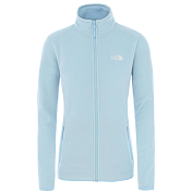 Флис для активного отдыха The North Face 2020 100 Glacier Full Zip Angel Falls Blue