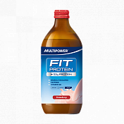 Напиток Multipower Fit Protein Erdbeer 500ml