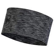 Повязка Buff MW Wool Headband Graphite Multi Stripes