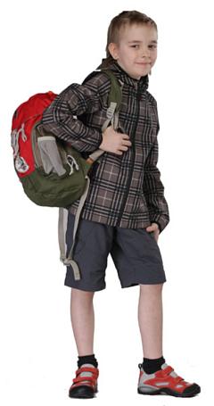 Купить Куртка для активного отдыха MAIER 2012 POGO PRINT коричневый/принт Детская одежда 787524