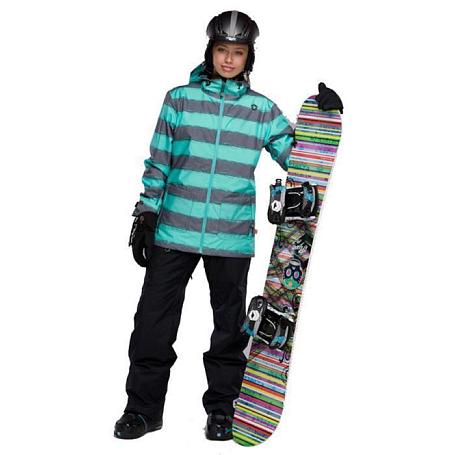 Купить Брюки сноубордические SESSIONS 2011-12 Atmosphere Pant 01A Black, Одежда сноубордическая, 745020